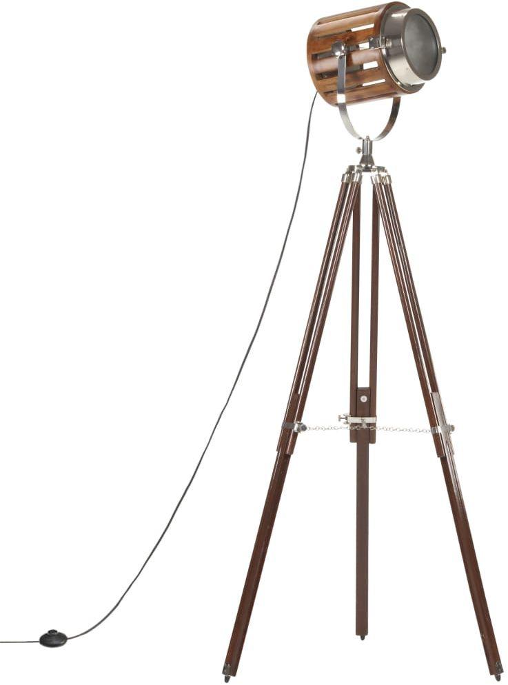 Lampa stojąca drewniana w stylu vintage - EX195-Savita