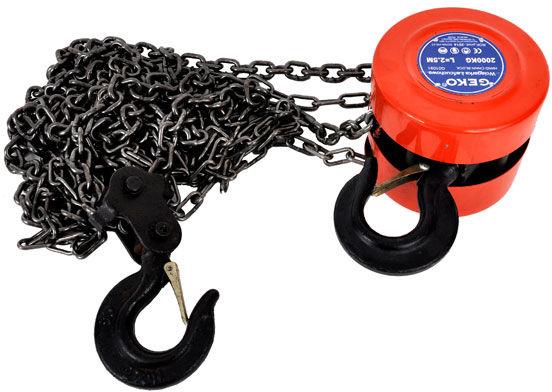 Wciągarka wyciągarka łańcuchowa 1T łańcuch 2,5m