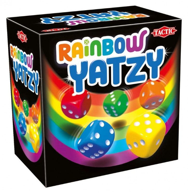 Tęczowe Yatzy gra w kości ZAKŁADKA DO KSIĄŻEK GRATIS DO KAŻDEGO ZAMÓWIENIA