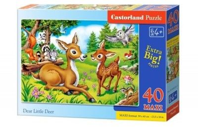 Puzzle Castor 40 MAX - Kopciuszek, Cinderella