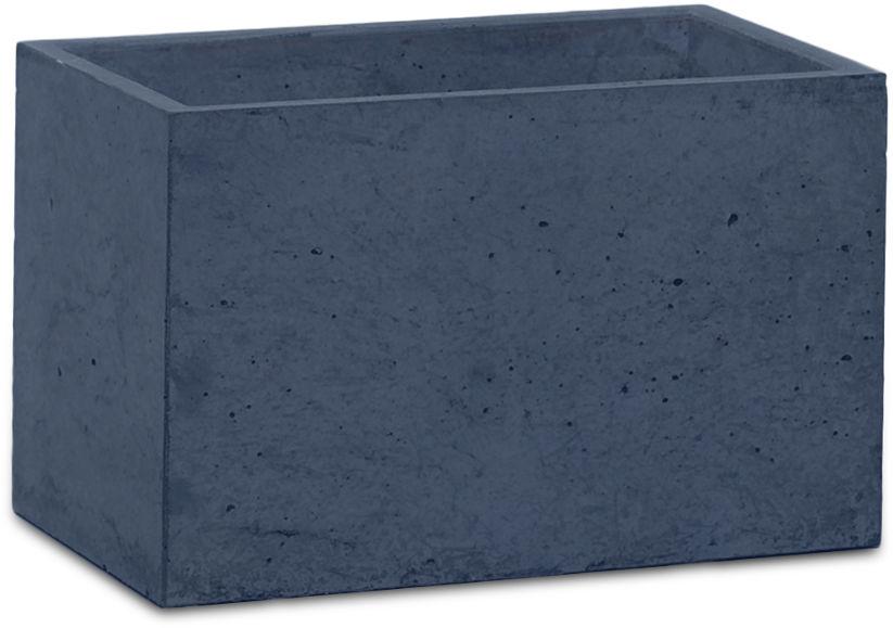 Donica betonowa S 24x14x15 grafitowy