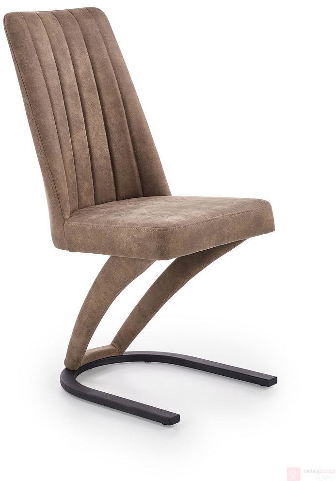 Krzesło K-338 Halmar Brązowy
