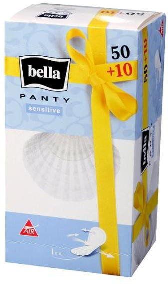 Bella Wkładki higieniczne Panty Sensitive 60szt
