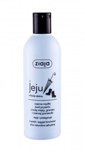 Ziaja Jeju Black Shower Soap żel pod prysznic 300 ml dla kobiet