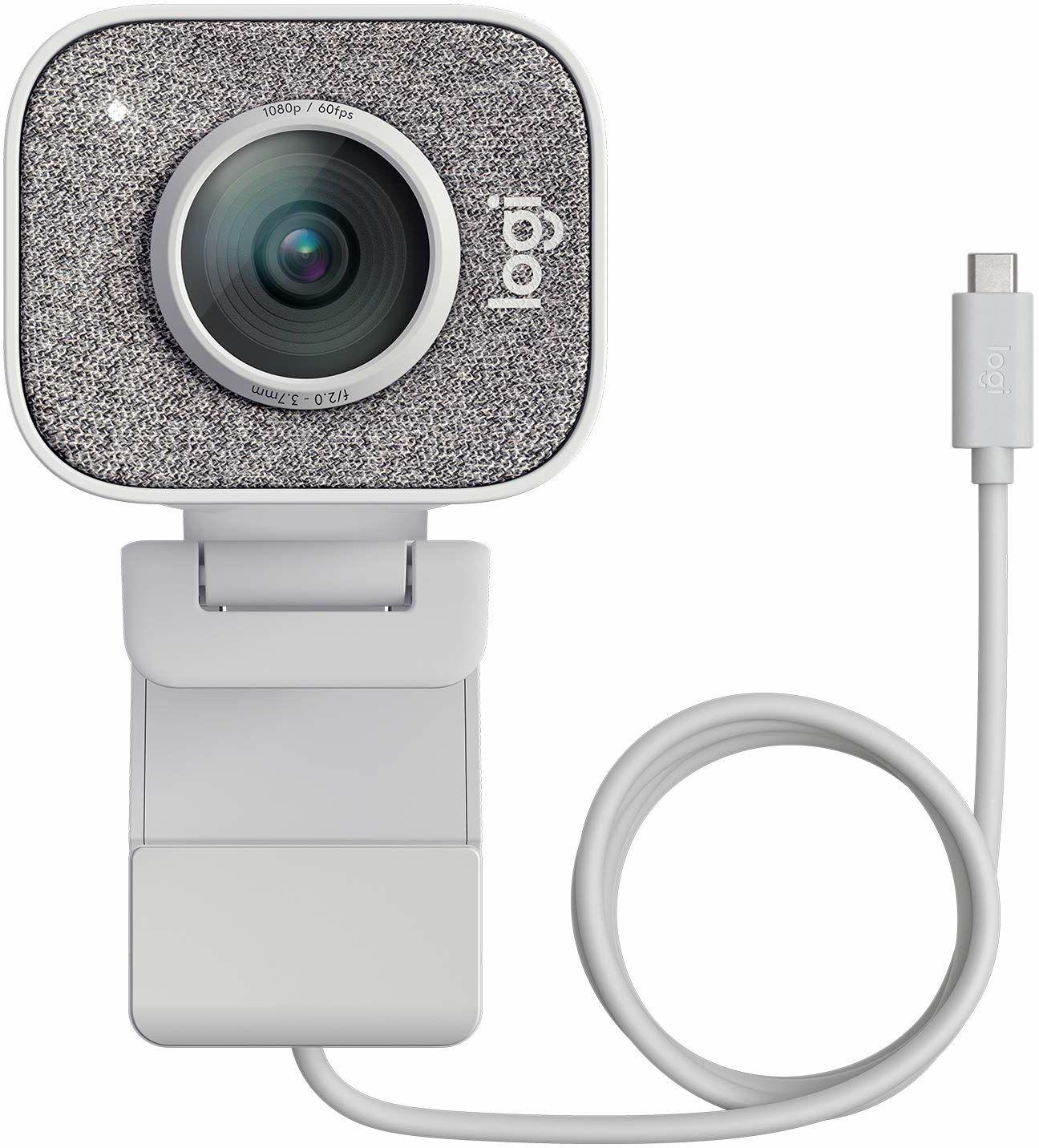 Logitech Streamcam Kamera Full Hd Ze Złączem Usb Typu C Do Przesyłania Strumieniowego Na Żywo I Tworzenia Treści, Pc/Mac - Biały,960-001297