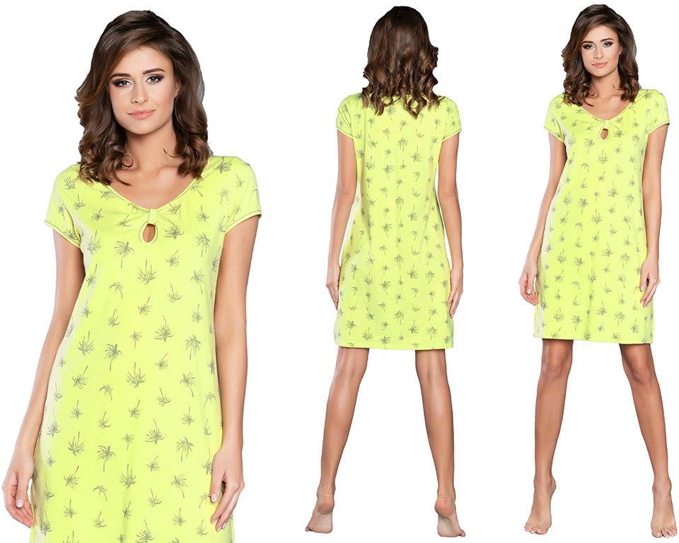 Koszula nocna CAPRI: limonka