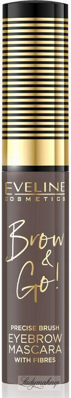 Eveline Cosmetics - BROW & GO Eyebrow Mascara - Tusz do brwi - 01 - LIGHT