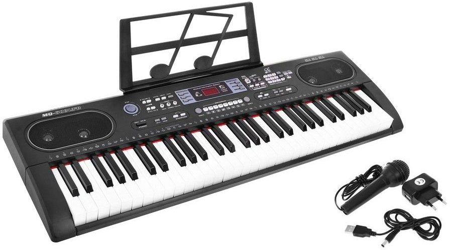 Duże Wielofunkcyjne Organy / Keyboard + Mikrofon + Zasilacz + USB + Bluetooth + Stojak Na Nuty...