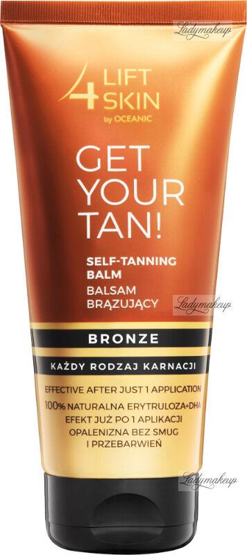 Lift4Skin - GET YOUR TAN! Self-Tanning Balm - Balsam brązujący do ciała - Bronze - 200 ml