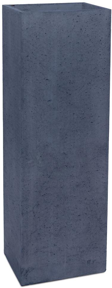 Donica betonowa TOWER L 31x25x93 grafitowy
