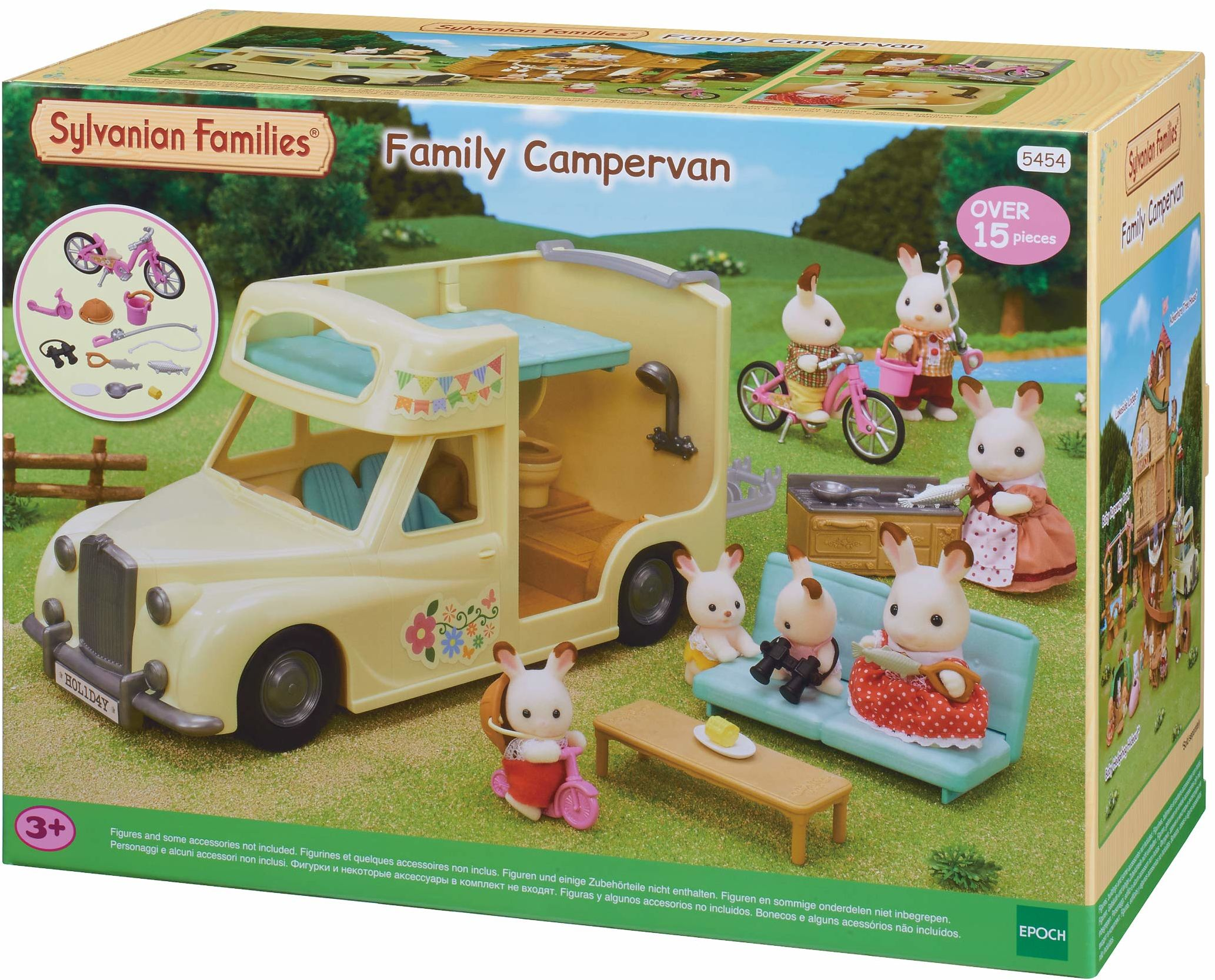 Sylvanian Families 5454 rodzinny Campervan Vehical zestaw do zabawy