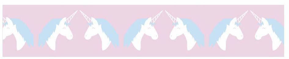 Rayher Hobby Rayher 60869000 taśma Washi Unicorn, sortowana, 15 mm, rolka 10 m