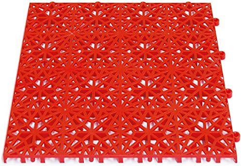 Miltex mata podłogowa, czerwona