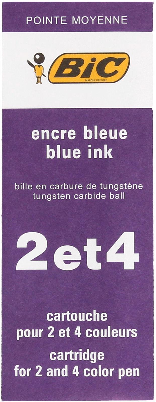 Wkład długopisowy niebieski 4 Colours Medium