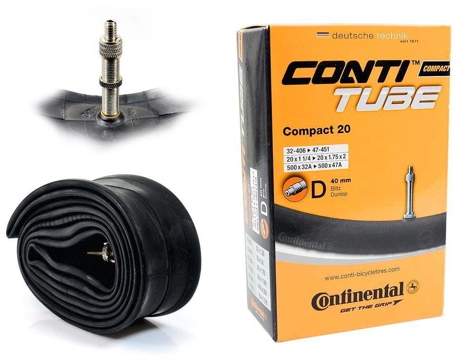 Dętka Continental Compact 20'' x 1,25'' - 1,75'' wentyl dunlop 40 mm