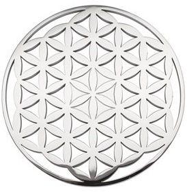Magnetyczna podstawka do strukturyzacji wody i napojów pod dzbanek/szklankę 3147-1 kwiat życia