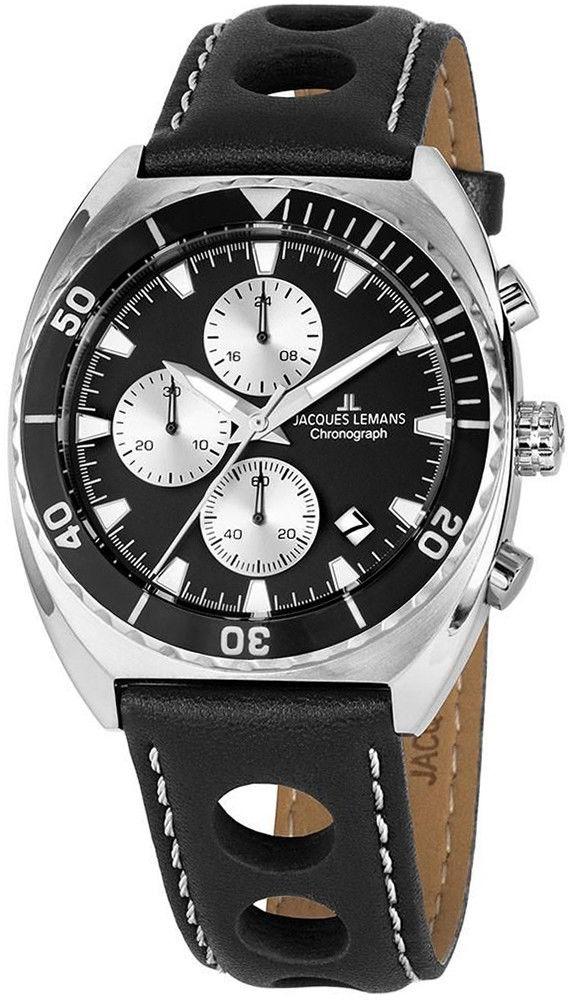 Zegarek Jacques Lemans 1-2041A - CENA DO NEGOCJACJI - DOSTAWA DHL GRATIS, KUPUJ BEZ RYZYKA - 100 dni na zwrot, możliwość wygrawerowania dowolnego tekstu.