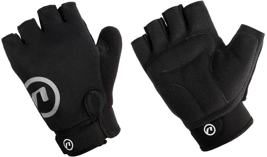 Rękawiczki rowerowe Accent Blacky czarne XXL
