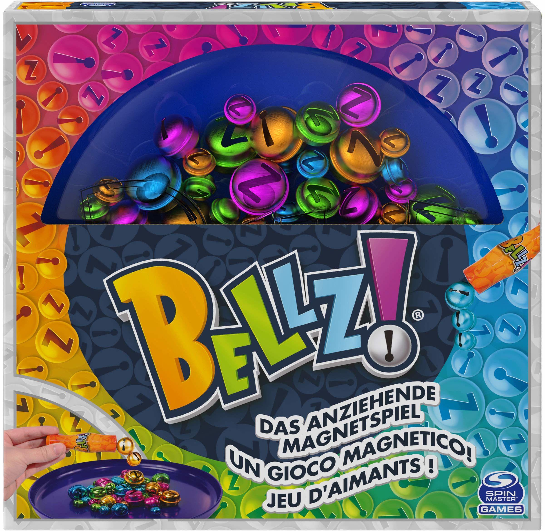 Spin Master Games Bellz  przyciągająca gra magnetyczna dla całej rodziny, 2  4 graczy od 6 lat  2. edycja w kartonie do gry