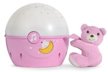 Chicco zabawki 062348 projektor na łóżeczko różowy