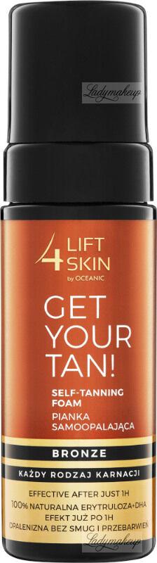 Lift4Skin - GET YOUR TAN! - Self-Tanning Foam - Samoopalająca pianka do ciała - Bronze - 150 ml