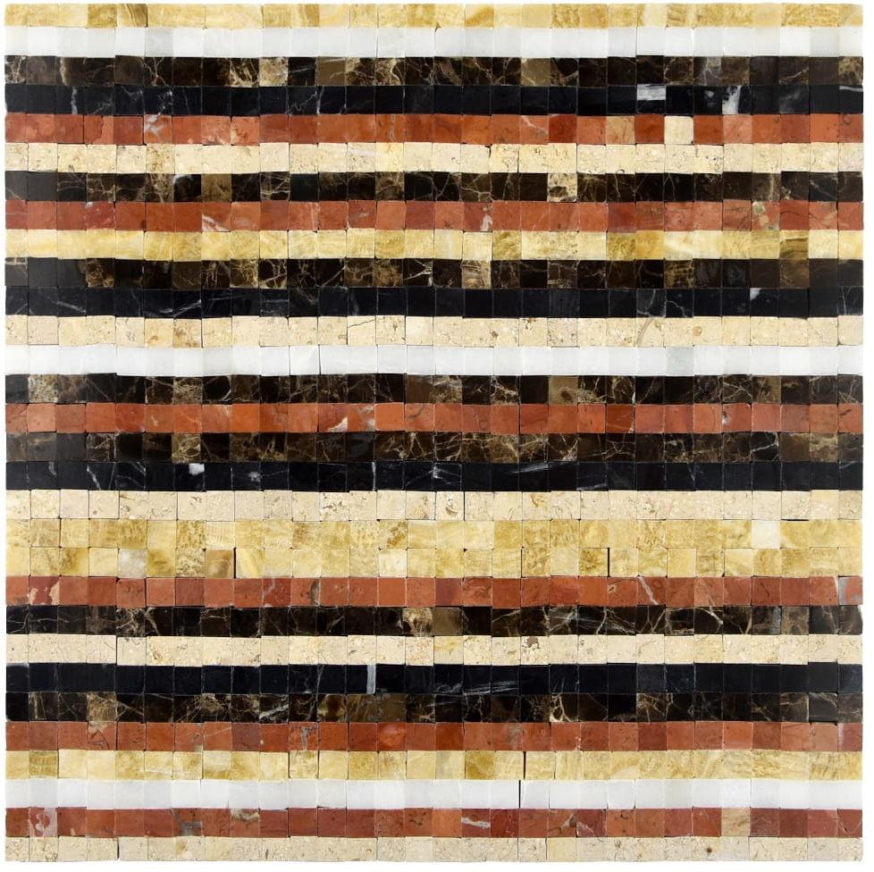 MIDAS - Mozaika kamienna kolorowa 8 mm A-MST08-XX-035