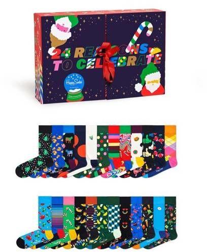Zestaw skarpetek Happy Socks 24 Days of Holiday XMAS41-0100 (24pary)