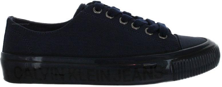 Trampki damskie Calvin Klein Jeans Destinee granatoweB4R0807 NAVY