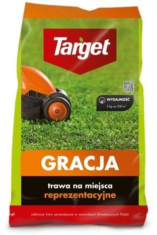 Gracja  trawa gazonowa  5 kg target