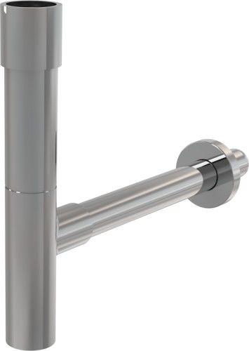 PÓŁSYFON UMYWALKOWY 32 mm, mosiądz z chromowanym