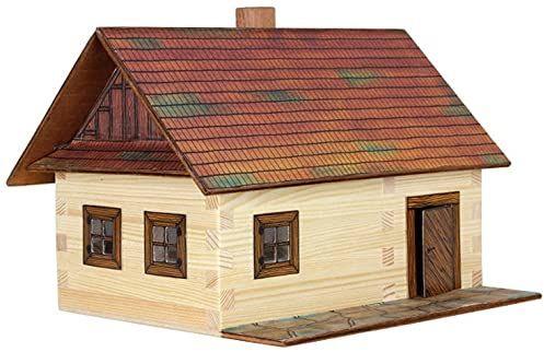 Walachia Zestaw modeli chatki z drewna