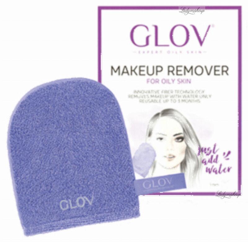 GLOV - HYDRO DEMAQUILLAGE - MAKEUP REMOVING GLOVE - For oily and mixed skin - EXPERT - Rękawica peelingująca do demakijażu do skóry tłustej i mieszanej