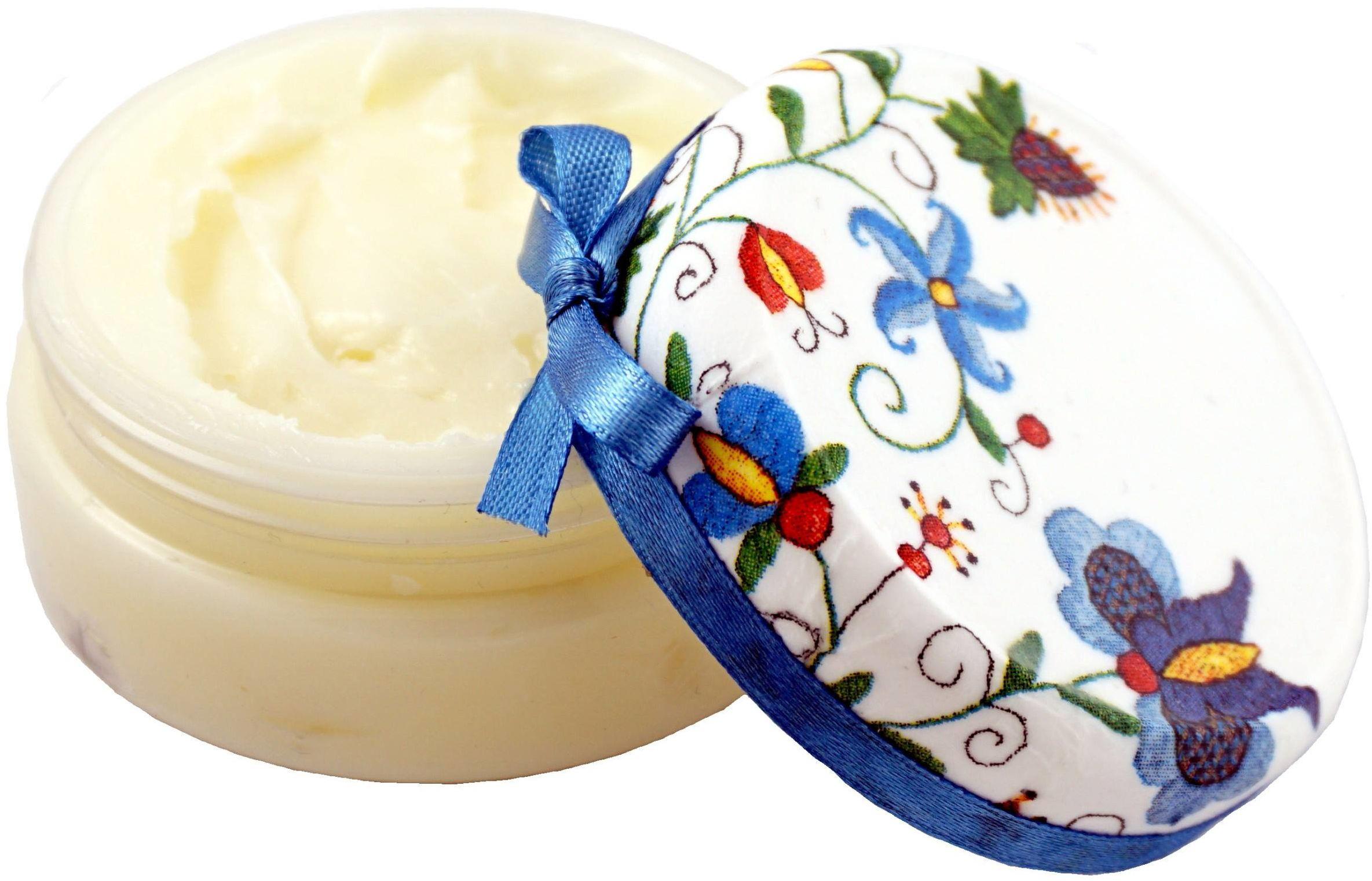 Balsam z masłem Shea Liczi z Kwasem Hialuronowym - 100g - Lavea
