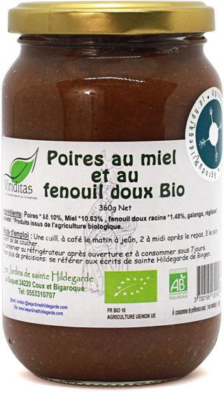 Przyprawy i zioła - Mieszanka z koprem włoskim - miód gruszkowy (gotowy do spożycia) Bio*, - E0040