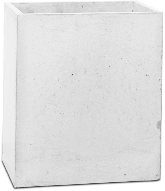 Donica betonowa TOWER S 31x25x30 biały
