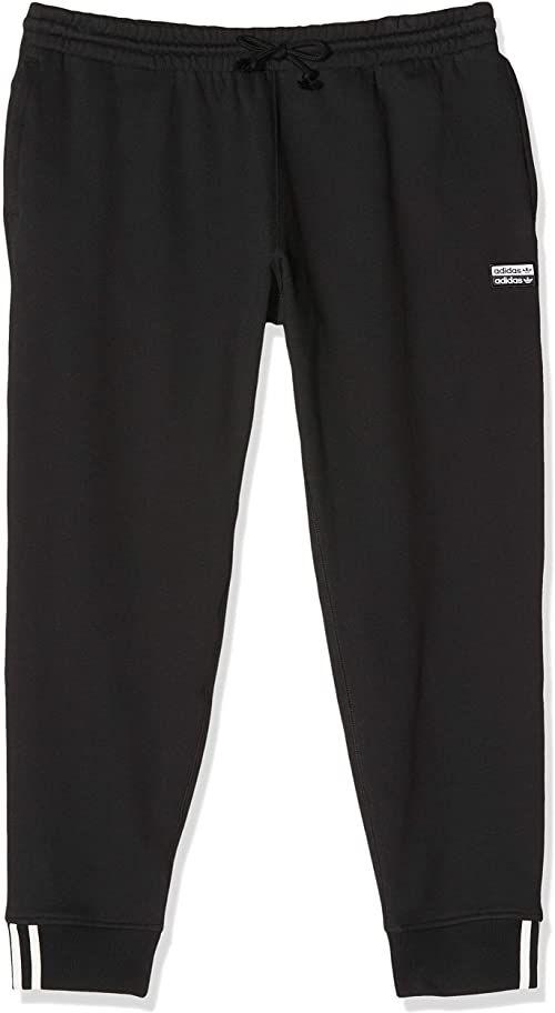 adidas męskie spodnie dresowe F Sweatp czarny czarny S