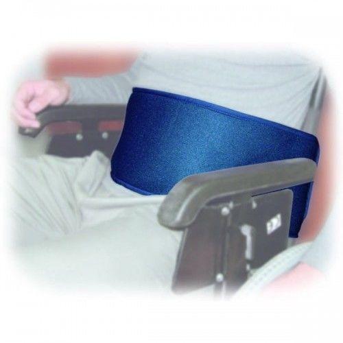 Stabilizacja pacjenta w wózku inwalidzkim SECUBACK I