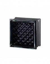 Luksfer Mini Daredevil Black 100% pustak szklany 14,7x14,7x8 cm
