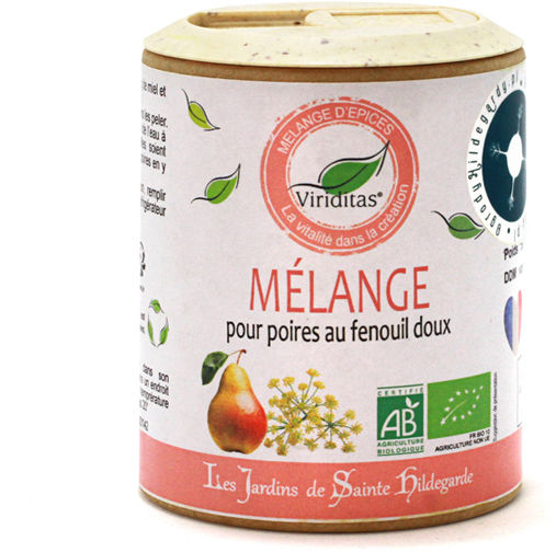 Przyprawy i zioła - Mieszanka z koprem włoskim do miodu gruszkowego 50g Bio*, - 60142