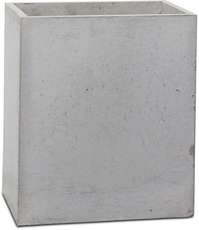 Donica betonowa TOWER S 31x25x30 szary naturalny
