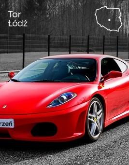 Jazda za kierownicą Ferrari F430  Tor Łódź