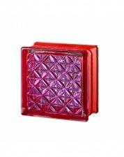 Luksfer Mini Romantic Pink pustak szklany 14,7x14,7x8 cm