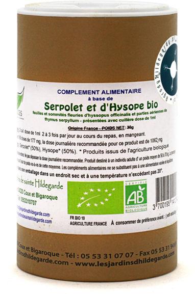 Przyprawy i zioła - Mieszanka z macierzanką i hyzopem (liście)30g Bio*, - 60160