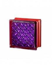Luksfer Mini Romantic Violet pustak szklany 14,7x14,7x8 cm