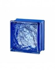 Luksfer Mini Sophisticated Blue pustak szklany 14,7x14,7x8 cm