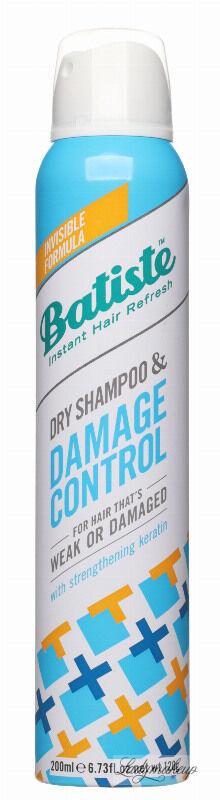 Batiste - Dry Shampoo & Damage Control - Suchy szampon do włosów zniszczonych - 200 ml