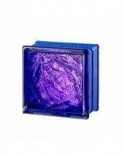 Luksfer Mini Sophisticated Violet pustak szklany 14,7x14,7x8 cm