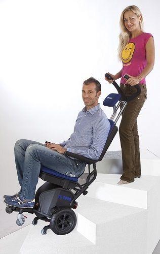 Schodołaz osobowy kroczący krzesełkowy (LG 2020 160kg udźwigu)