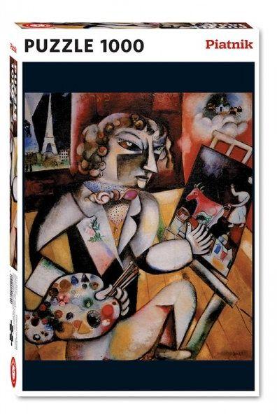 Puzzle Chagall, Autoportret Piatnik