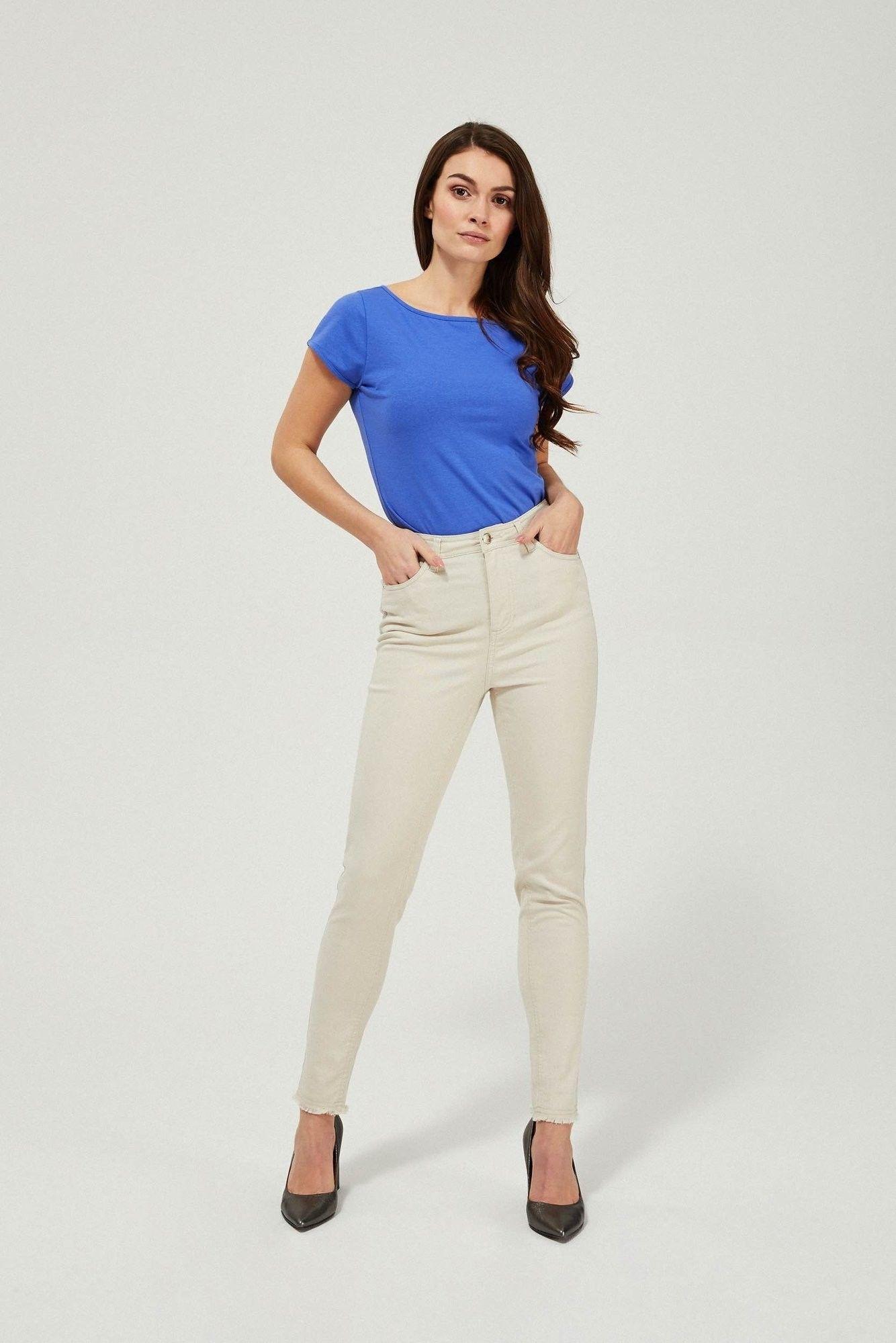 Spodnie rurki lyocell